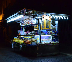 Night Vendor (explored) (pjpink) Tags: italy rome night march spring vendor streetvendor 2014 pjpink
