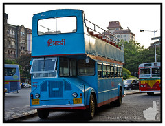 Three Generations of BEST Buses (Prathamography by Prathamesh Kini) Tags: bus best mumbai