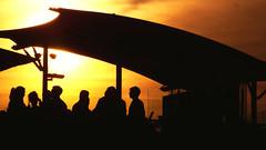 Wining and Dining (Antony Zacharias) Tags: light sunset reflection london silhouette millenniumwheel thames towerbridge londonbridge river cityhall stpauls londoneye parliament bigben stpaulscathedral riverthames waterreflection londonbus redbus londonsunset hdrsky riverreflection