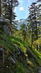 Walking to Lac du Gaube in the Pyrenees (Randy Durrum) Tags: france europe eu samsung gaube dailyfrenchpod durrum leuropepittoresque snapseed flickrandroidapp:filter=none