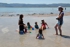 Kids playing in the water 1 (Aggiewelshes) Tags: beach june idaho kelley vivian cailin bearlake jovie 2015 jalila northbeachrentals
