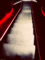 Stairway to heaven... (lilitht.aries) Tags: stairs escalator