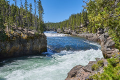 Along the rivers edge (green2mm1) Tags: yellowstone river water rushing summer landscape
