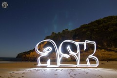 Great Ocean Road (MISHKA Vision - Light Graffer) Tags: australie australia lightpainting lightgraff longexposure expositionlongue nightphotography roadtrip