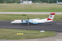 OE-LGB Dusseldorf 15/06/10 (Andy Vass Aviation) Tags: dusseldorf dhc8 austrianarrows oelbs