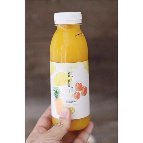 小行星『勇气』果汁🍹芒果菠萝苹果汁🍍🍎