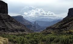 Fisher Towers - Utah USA (MalaneyStuff) Tags: fishertowers utah hwy128 moab usa landscape nikon clouds canyon towers fisher