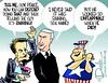 1016 veep debate cartoon (DSL art and photos) Tags: editorialcartoon donlee donaldtrump election politics presidential 2016 timkaine mikepence vicepresident debate pissonmyleg tellmeitsraining