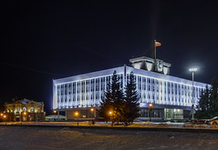 Night Tomsk. White house. (VX_GAS) Tags: tomsk sony siberia rx100 russia    winter night nightphoto