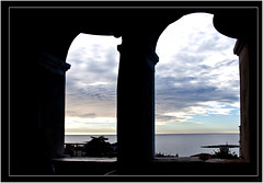 260-ATARDECER DESDE EL CAMPANARIO - POREC - (Croacia) (-MARCO POLO--) Tags: ciudades atardeceres ocasos nubes arcos arquitectura edificios