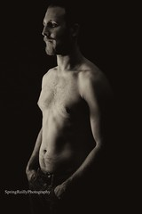 IMG_6790 (SpringTrippReilly-Life's Elements Photography) Tags: man black whtie portrait shirtless bare chest lifeselementsphotography wwwspringreillycom springreilly male