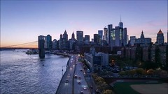 FDR Drive Time Lapse Redo (Michael.Lee.Pics.NYC) Tags: newyork fdrdrive manhattanbridge eastriver lowermanhattan timelapse video cityscape aerial twilight night bluehour sony a7rm2 zeissloxia21mmf28
