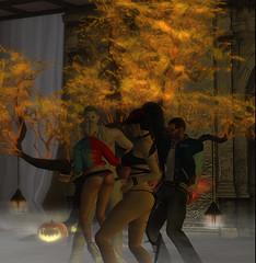 Jesie Halloween Party 12 (hunnibear86) Tags: halloween costume secondlife sl demon wolf lycan