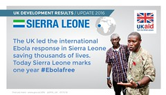 Sierra Leone: Ebola 1 year on