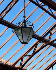 Railway station lamp. (jeansmachines24) Tags: kidderminster england severnvalley railway station original diagonals