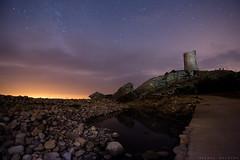 En la torre (sergio estevez) Tags: nocturna torre guadalmesi agua cielo campodegibraltar estrellas stars granangular luz largaexposicin landscape paisaje nubes tokina1116mmf28 sergioestevez