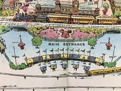 Disneyland Main Gate (Retrolandia) Tags: disneyland 1960s