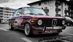 Alpina, St. Moritz (jannik.weber) Tags: alpina bmw switzerland selectivecolor old car oldtimer nikon dslr summer stmoritz