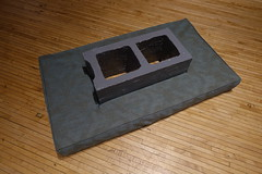 soft sculpture (nicknormal) Tags: cement cinder cinderblock pillow