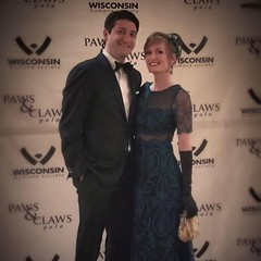 "I was tagged on FB! #GalaSeason Wisconsin Humane Society's ""Great Catsby"" gala. -Autosaved (kisluvkis) Tags: fb facebook tagged julie ifttt whs paws claws pawsandclaws gala wihumane wisconsinhumane society gown gatsby jcj ball rtr"