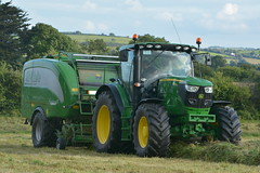 John Deere 6150R Tractor with a McHale Fusion 3 Plus Baler & Wrapper (Shane Casey CK25) Tags: john deere 6150r tractor mchale fusion 3 plus baler wrapper 6150 r castlelyons green silage silage16 silage2016 grass grass16 grass2016 winter feed fodder county cork ireland irish farm farmer farming agri agriculture contractor field ground soil earth cows cattle work working horse power horsepower hp pull pulling cut cutting crop lifting machine machinery nikon d7100
