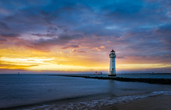 Perch Rock Lighthouse (timmb15) Tags: perchrocklighthouse lighthouse sunset newbrighton wirral