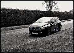Renault Clio RS (larry_shone) Tags: car renault clio rs selectivecolour urban