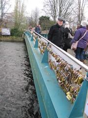A bridge full of padlocks (janet7r) Tags: padlocks bakewell derbyshire