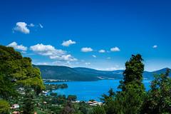 Lago di bracciano (SDB79) Tags: lago natura paesaggio belvedere acqua alberi bracciano lazio vacanze