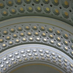 W. U. S. A. R. O. (unclebobjim) Tags: washington union station arched roof octagons
