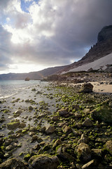 Arher beach (indomitablemachine) Tags: arher rocks sand sea socotra yemen hadhramautgovernorate ye