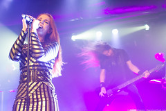 IMG_8396 (steelsoul) Tags: epica metal symphonicmetal baltimore baltimoresoundstage soundstage concert live band music holographic principle