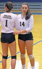 IMG_7914 (SJH Foto) Tags: girls volleyball high school york delone catholic team teen teenager substitution sub rotation