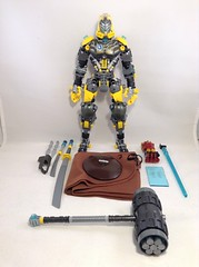 Bythalis, The Storm Ninja 40 (MrBoltTron) Tags: lego bionicle toa selfmoc moc lightning toaoflightning