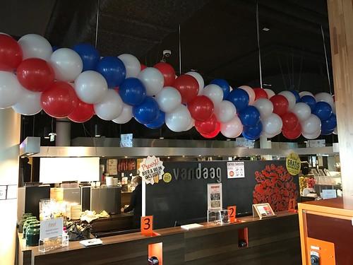 Ballonslinger Restaurant Vandaag Utrecht