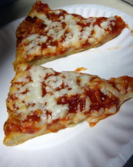 Slices Of Pizza. (dccradio) Tags: lumberton nc northcarolina robesoncounty food eat pizza frozenpizza slices supper lunch dinner snack cheese cheesepizza crust