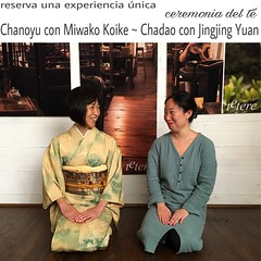 Un t, una experiencia   Reserva una experiencia nica en la Tetereria. Ahora disponemos Chanoyu con Miwako Koike (ceremonia del t Matcha) o Chadao con Jingjing Yuan (ceremonia del t China). (Tetere Barcelona) Tags:   teterebarcelona teteriabarcelona tetereria tetere chinesetea japanesetea teaparty teameet gongfutea gongfucha matcha maccha sado chado ceremoniadelte teaceremony