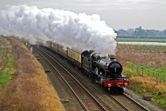 christmas lunch (midcheshireman) Tags: steam train locomotive greatwestern 49xx roodastonhall mainline cheshire