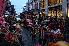 Firebrigade (Jan Kranendonk) Tags: sinterklaas intocht denhaag thehague holland dutch firebrigade brandweerwagen street straat people festival mensen feest optocht zwartepiet brandweer brandweerauto auto car