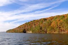 Lake Guntersville State Park (H-bob-omb) Tags: lake guntersville state park alabama short creek fall foliage cirrus clouds