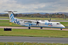 G-ECOC DHC-8Q 402 Flybe MAN 05-11-16 (PlanecrazyUK) Tags: egcc manchester man ringway manchesterairport gecoc dhc8q402 flybe 051116