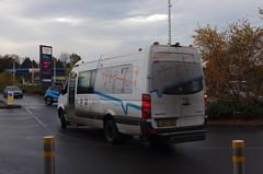 IMGP6765 (Steve Guess) Tags: bus brooklands byfleet surrey england gb uk cobham chatterbus vw midibus