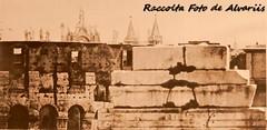 1860 ca  S. Giovanni oltre la trabeazione del Tempio dei Dioscuri al Foro Roma no (Roma ieri, Roma oggi: Raccolta Foto de Alvariis) Tags: vedutedifantasiaalcelio rionecelio roma rome italy lazio raccoltafotodealvariis 1860 sgiovannioltrelatrabeazionedeltempiodeidioscurialfororomano danonimo