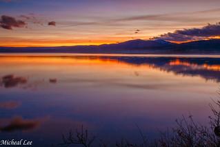 Almanor Sunset