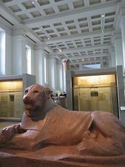 UK - London - West End - British Museum - Amenhotep III as a lion (JulesFoto) Tags: uk england london westend britishmuseum ancientegypt sculpture lion amenhotepiii