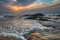 Colorful evening (Alex Savenok) Tags: colorfulevening israel palmachimbeach naturalreserve sea mediterraneansea seascape sunset colors longexposure exposure d610 nikon2485f3545 nikon skydrama sky