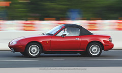Mazda, MX-5, Hong Kong (Daryl Chapman Photography) Tags: na1600 mazda mx5 japanese pan panning car cars auto autos automobile canon eos is ii 70200l f28 road engine power nice wheels rims hongkong china sar drive drivers driving fast grip photoshop cs6 windows darylchapman automotive photography hk hkg bhp horsepower brakes gas fuel petrol topgear headlights worldcars daryl chapman darylchapmanphotography
