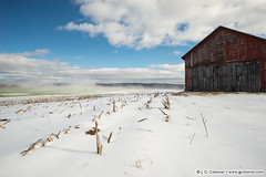 December Snow; Deerfield, 2015 (J. G. Coleman Photography) Tags: deerfield massachusetts newengland southernnewengland barn building cornfield farm farmland field snow winter wintertime nature outdoors farming agriculture tobaccoshed pocumtuckrange connecticutvalley