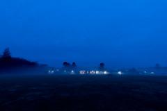untitled (Homemade) Tags: meadowpondelementaryschool lewisboro southsalem fog bluehour dawn ny fairfieldcounty nikon2470mmf28 nikkor2470mmf28 westchestercounty newyork
