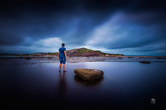 Stand Alone (kurianjosephphotography) Tags: northernbeaches nsw beaches australia sydney blue rock headland
